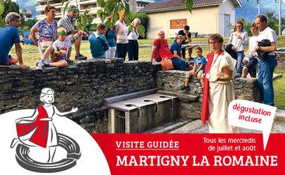 """Visite guidée """"Martigny La Romaine""""  - 1"""