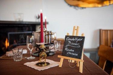 Candlelight Dinner Berggasthaus Rigi Scheidegg - 1