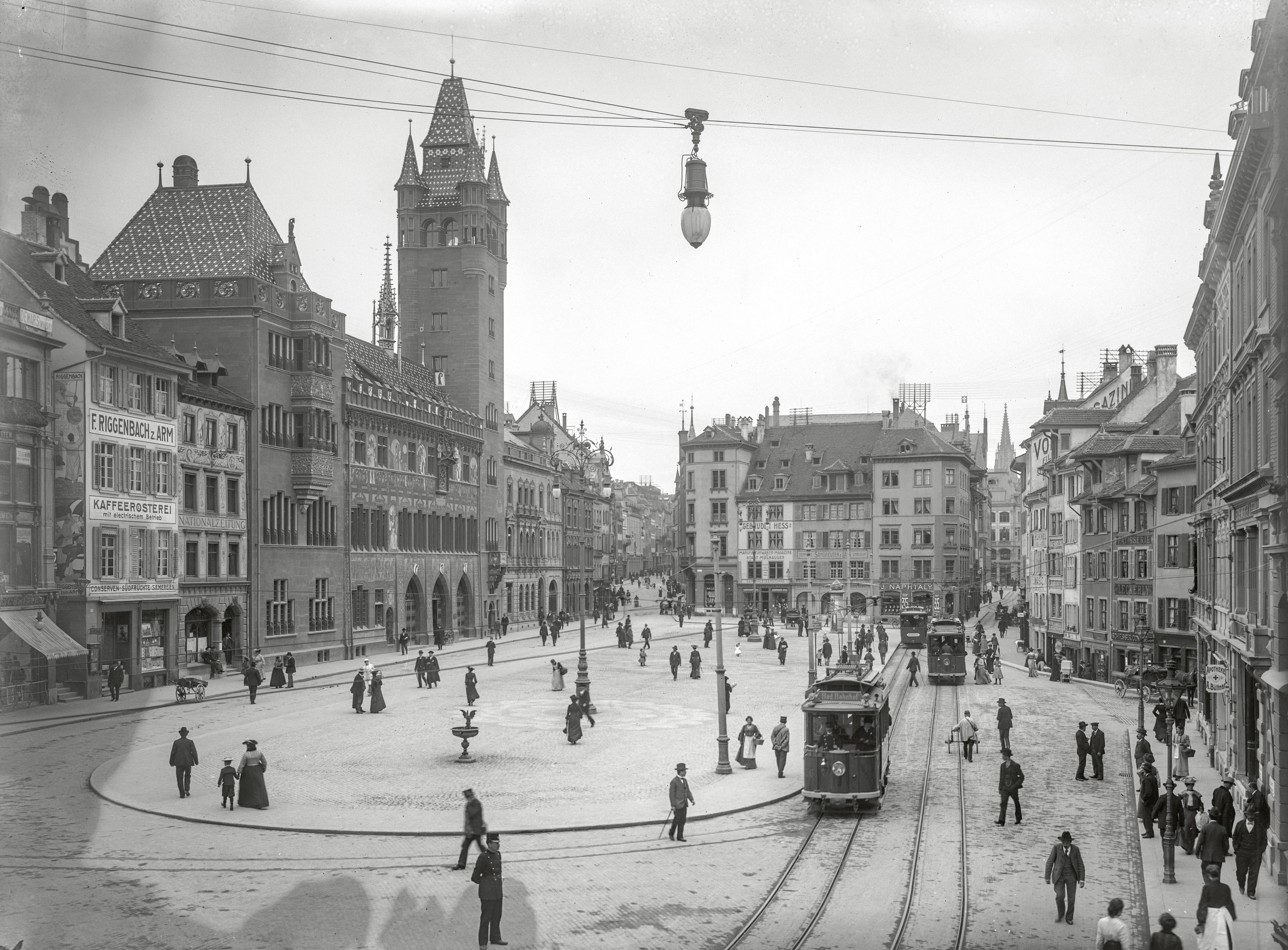 Tramstadt Basel - Auf Schienen zur modernen Stadt