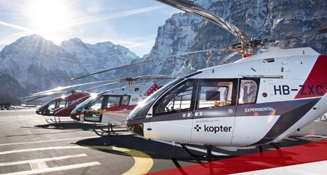 Save the Date: 1. Schweizer Helitag am 11.02.2020