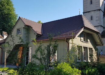 Bauhütte bei St. Oswald, Elisabeth Feiler, KKZ