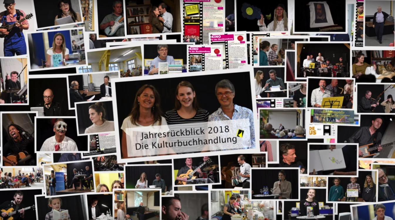 Still aus dem Jahresrückblick-Video von Wortreich Glarus