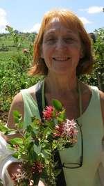 Christine Zollinger, Pflanzenzüchterin, Les Evouettes
