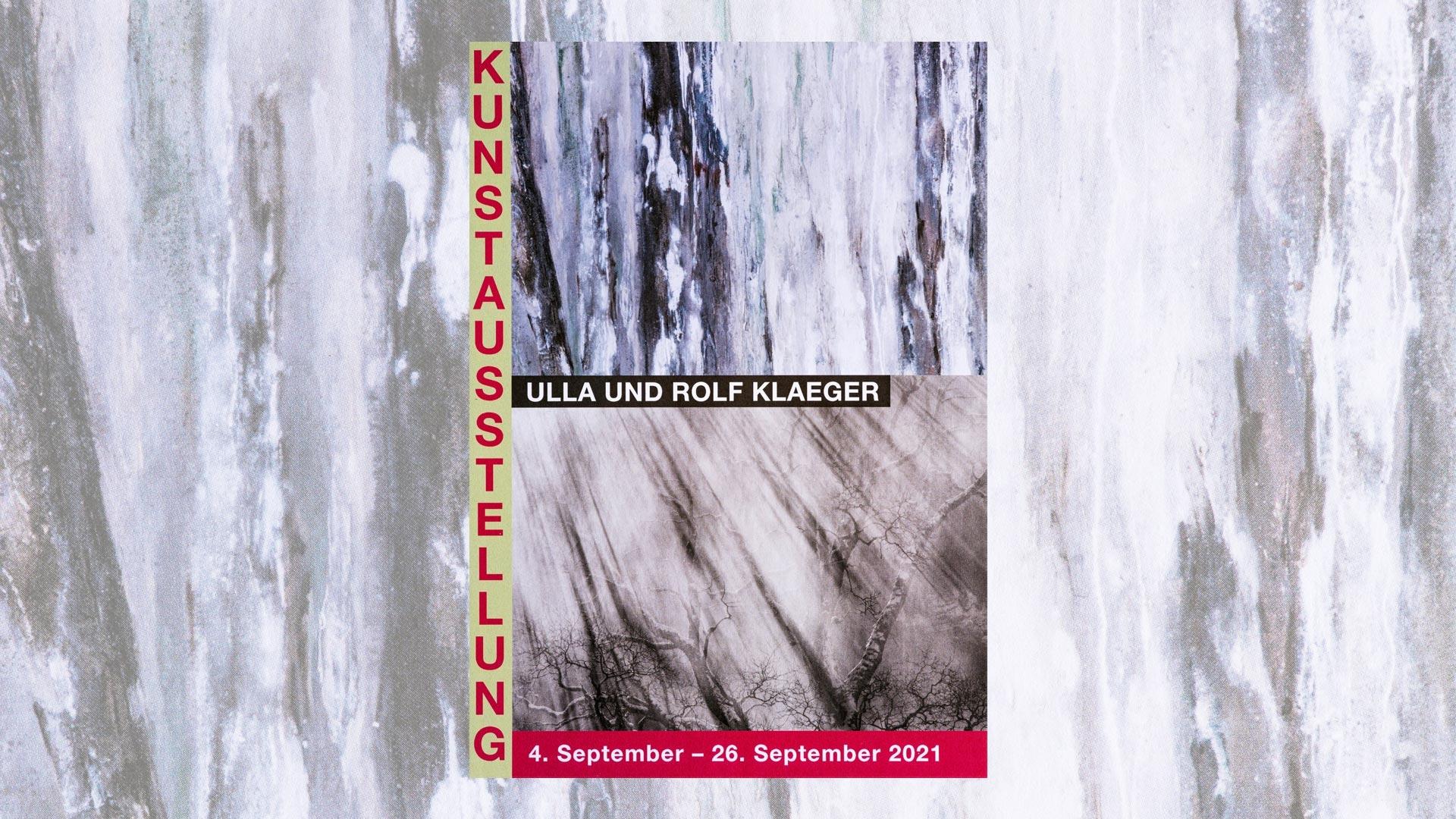 Gallerie Kunstsammlung Unterseen Ausstellung Ulla und Rolf Klaeger