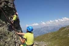 Klettertag am Pizol durch SAC