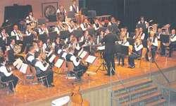Der Musikverein Wangen wusste unter der Leitung von Hans Peter Ulrich das Publikum zu begeistern. Bild Lilo Etter