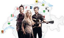 Country Helvetia: Die Band «CH» mit Nori Rickenbacher, Kisha und Reto Burrell zieht durch die Schweiz.