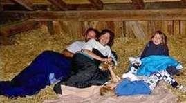 Scheidegger Ranch: Schlafen im Stroh