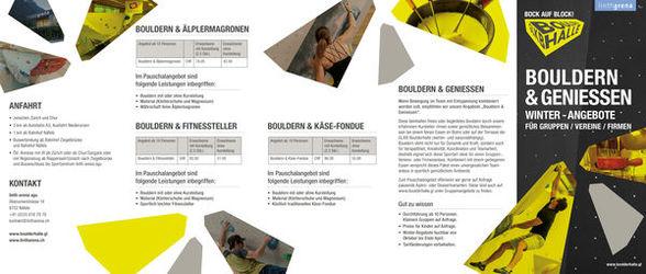 Bouldern & Geniessen - 1