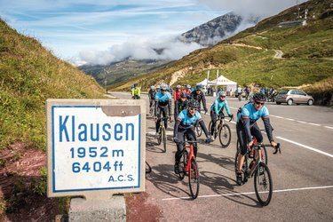 Ride the Alps: Velospass am Klausenpass - 1