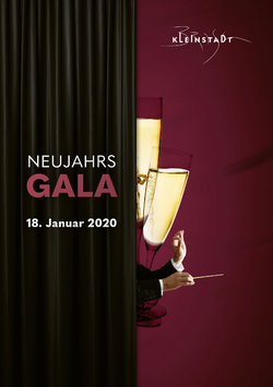 Flyer Neujahrsgala 2020