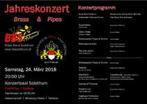 Flyer & Programm Jahreskonzert 24.3.18