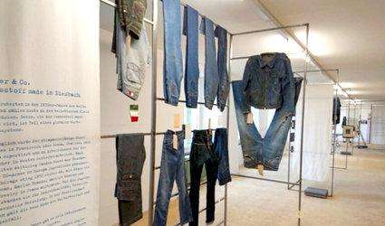 Sonderausstellung «Jeans made in Switzerland»
