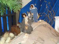 Duftende Weihnachtskrippe in der Comanderkirche