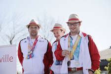 Üsi Erläbnis ade Special Olympics in Abu Dhabi