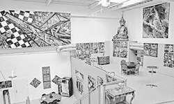 Die Gallerie il Tesoro in Altendorf zeigt derzeit Werke des Künstlers Wilhelm Jaeger. Bild zvg