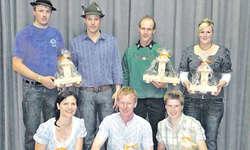 Die stolzen Sieger des diesjährigen Priisjuchzä in Vorderthal. Bild zvg