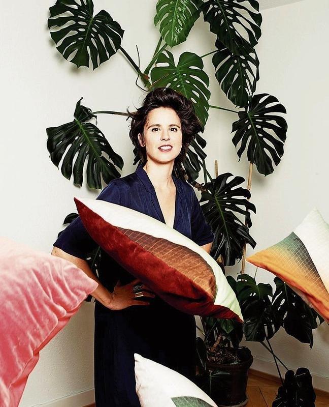 Claudia Caviezel lässt sich für ihr Textildesign auch vom Alltag inspirieren (Bilder Basil Stücheli)