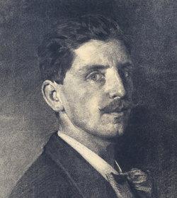 Emil Dill, Selbstporträt, Paris 1887