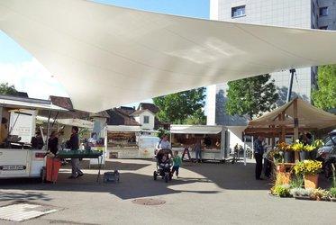 Wochenmarkt Weinfelden |Bildquelle buurpur.ch