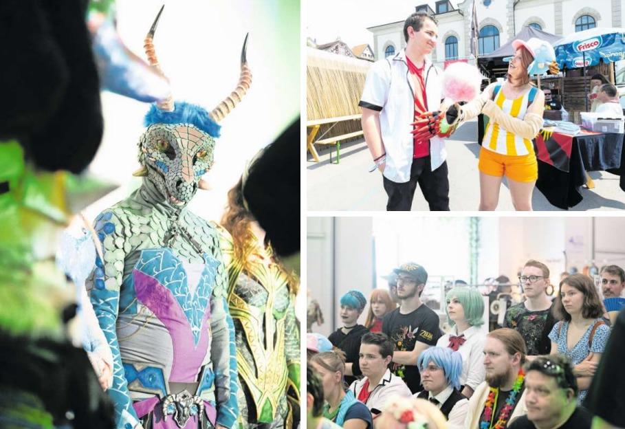 An der zweiten Fantasy-Convention Unicon in Zug sorgten insbesondere die Teilnehmer des Cosplay für viel Farbe. (Bilder Roger Zbinden)