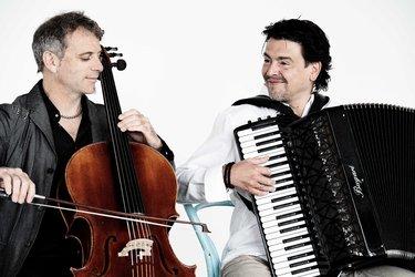 """""""TWO-gether"""" Accordeon und Cello mit Goran Kovacevic und Stefan Bauman"""
