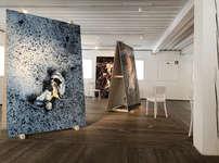 Ausstellung EG - Grossformatige Bilder von Gaudenz Danuser Foto: Remo Derungs