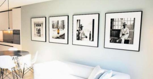 Eine der Fotoserien in den Gubelhof Suites stammt von Stephan Bösch. (Bild PD)