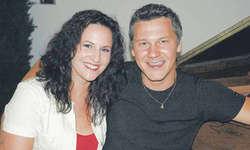 Freuen sich auf den Internationalen «Grand Prix der Volksmusik»: Patricia Stauber und Philipp Mettler. Bild Irene Lustenberger