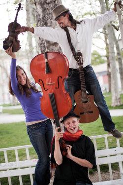 Das Wild Strings Trio steckt voller Virtuosität und Temperament