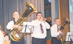 Drei Solisten, von links Sepp Suter, Markus Fuchs und Toni Horat. Fotos: Kurt Fässler