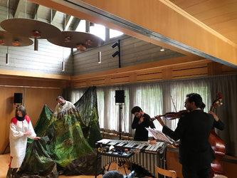 Erstaufführung der szenisch-musikalischen Spurensuche im Klöntal