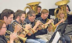 Am Brass Bsuech wurden die Zuhörer mit bekannten Melodien verwöhnt. Bild: PD