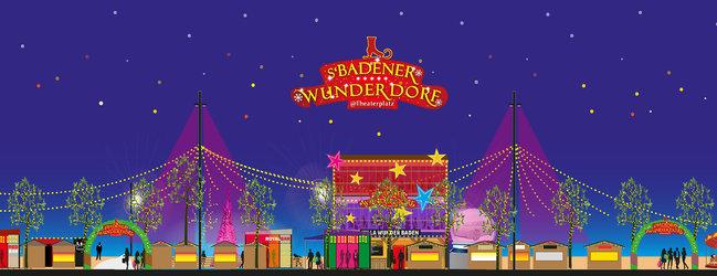 Badener WunderDorf Theaterplatz