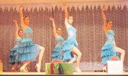 Die jungen Damen präsentierten ihre Tänze mit viel Charme und Eleganz. Bilder Nathalie Müller