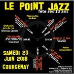10e anniversaire de la salle du Point Jazz