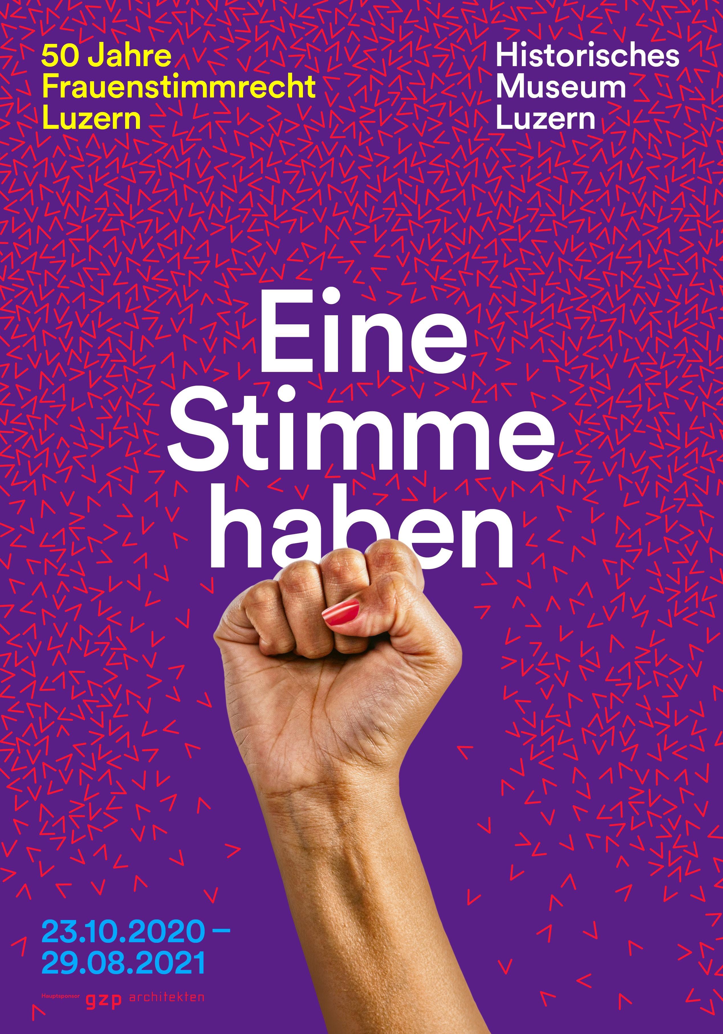 Eine Stimme haben. 50 Jahre Frauenstimmrecht in Luzern