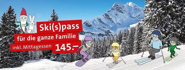 Ski(s)pass füt die ganze Familie