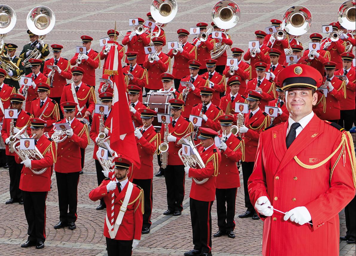 Die goldene Marschparade