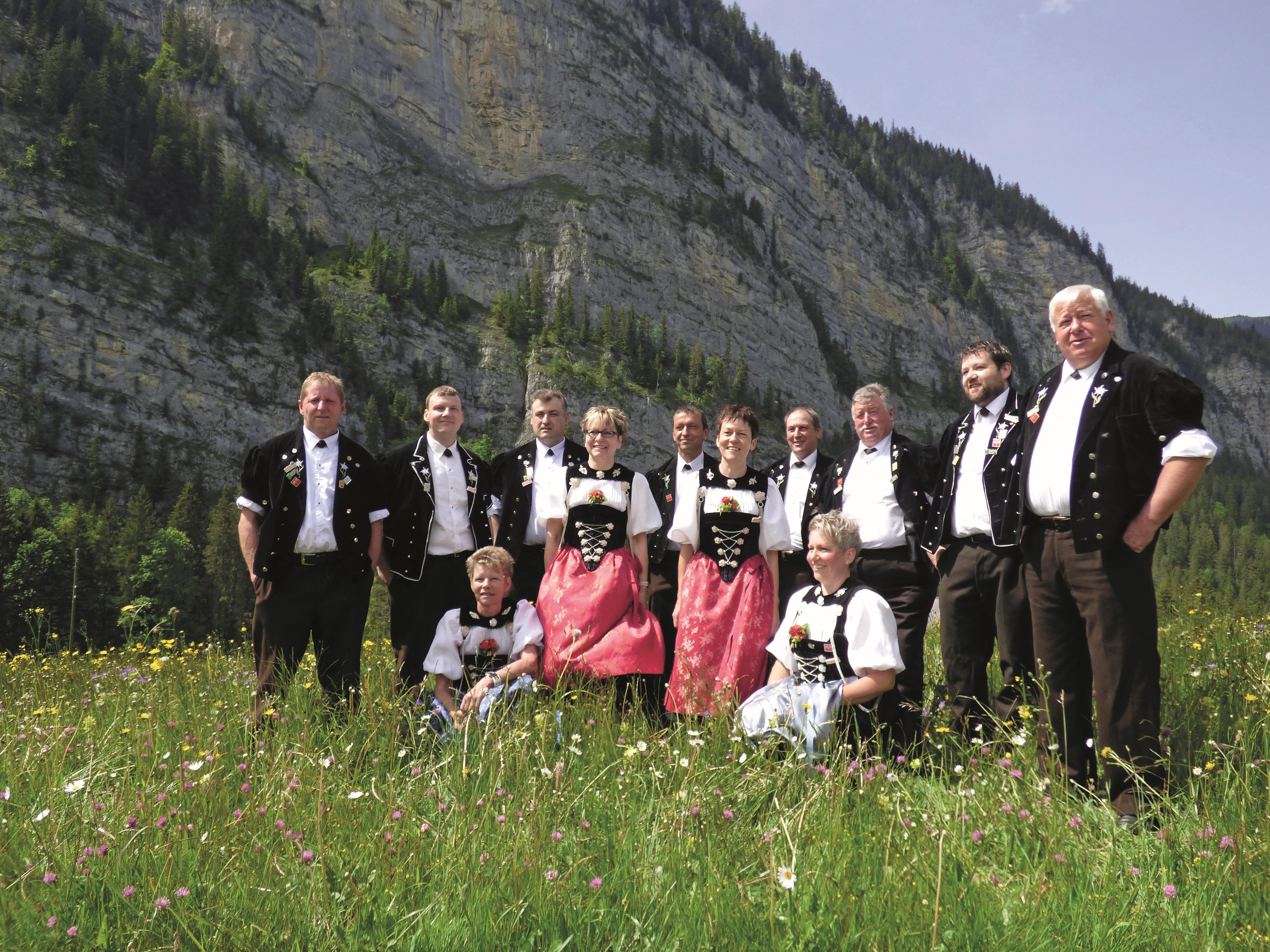 Jodlergruppe Männliflueh