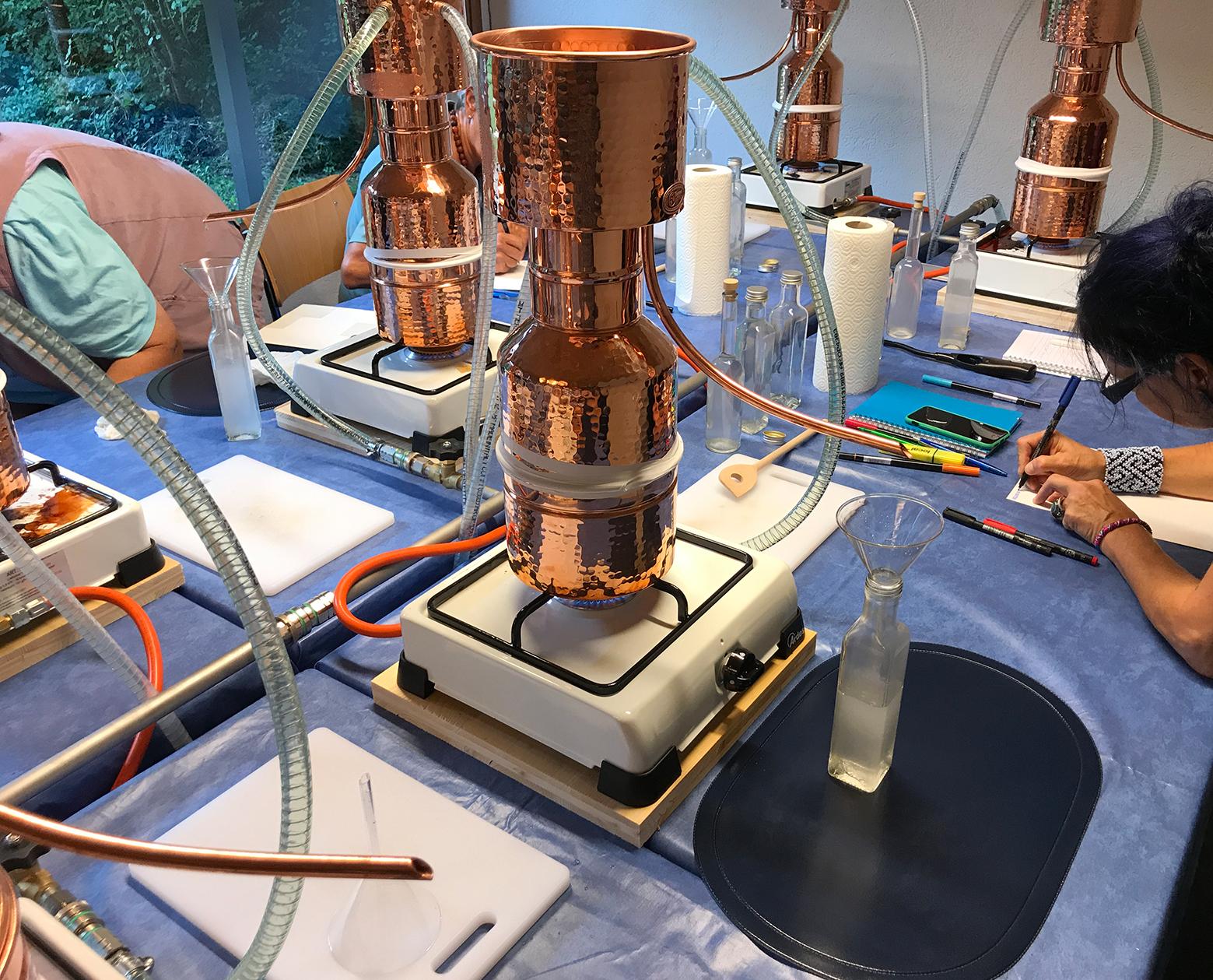 Duftessenzen selber destillieren (Basiskurs)