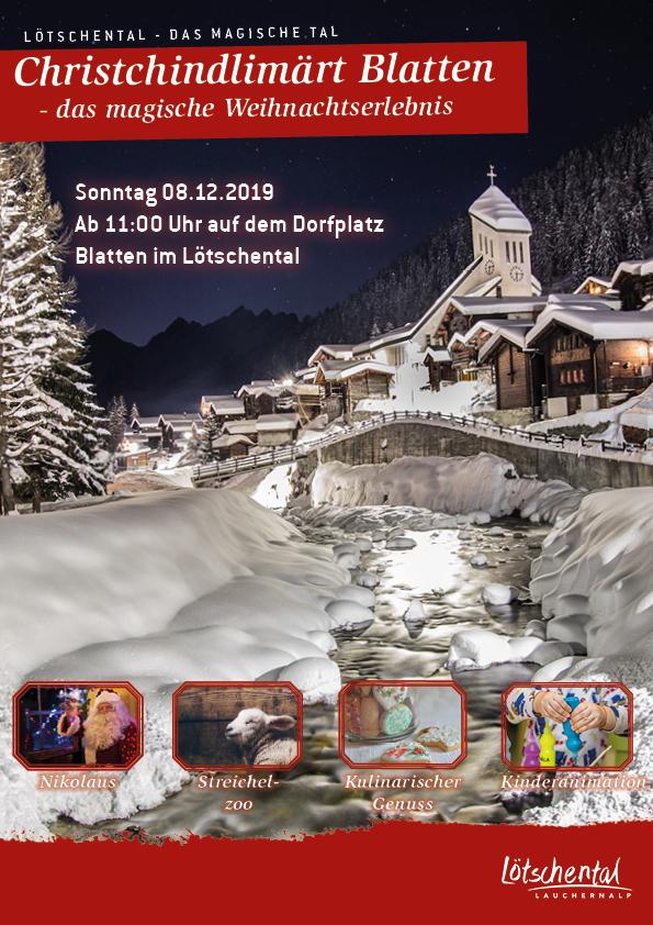 Christchindlimärt Blatten - das magische Weihnachtserlebnis