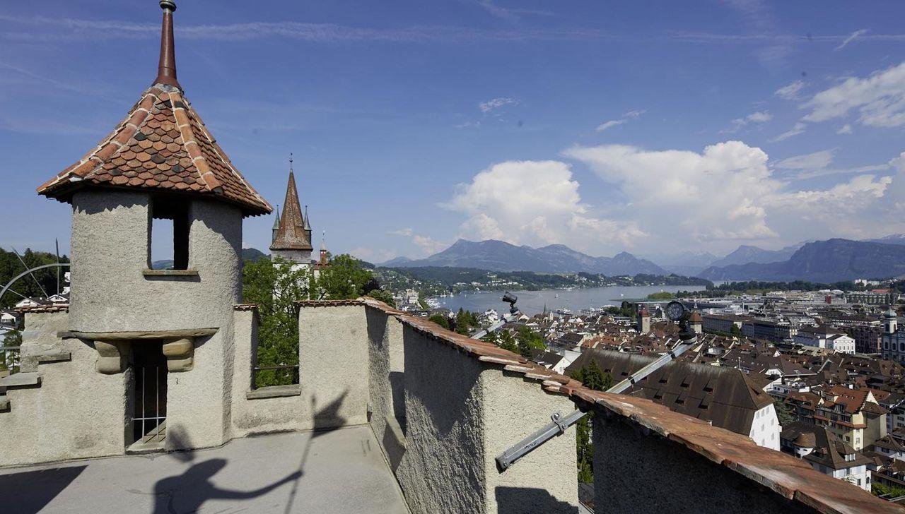 Themenführung: Luzerns Stadtbefestigung - die Museggmauer