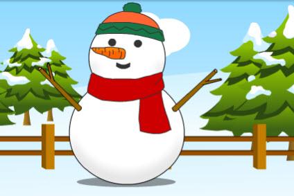 Concours de bonhomme de neige @  |  |