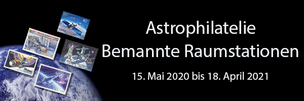 Astrophilatelie - Bemannte Raumstationen