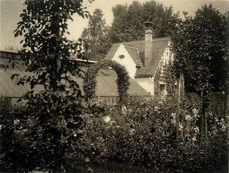 MusTreibhaus im Schnittblumengarten, ca. 1920 - ca. 1940,  Archiv Museum Langmatt, Stiftung Langmatt Sidney und Jenny Brown, Baden