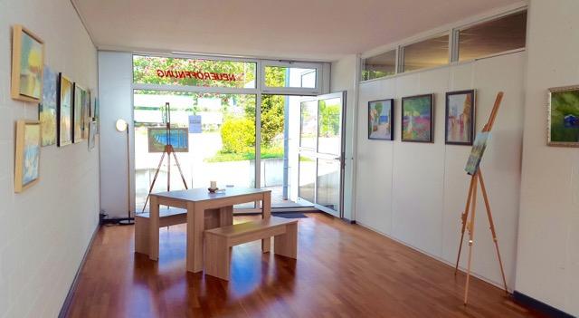 Ausstellung von Natatlie Bernhardt