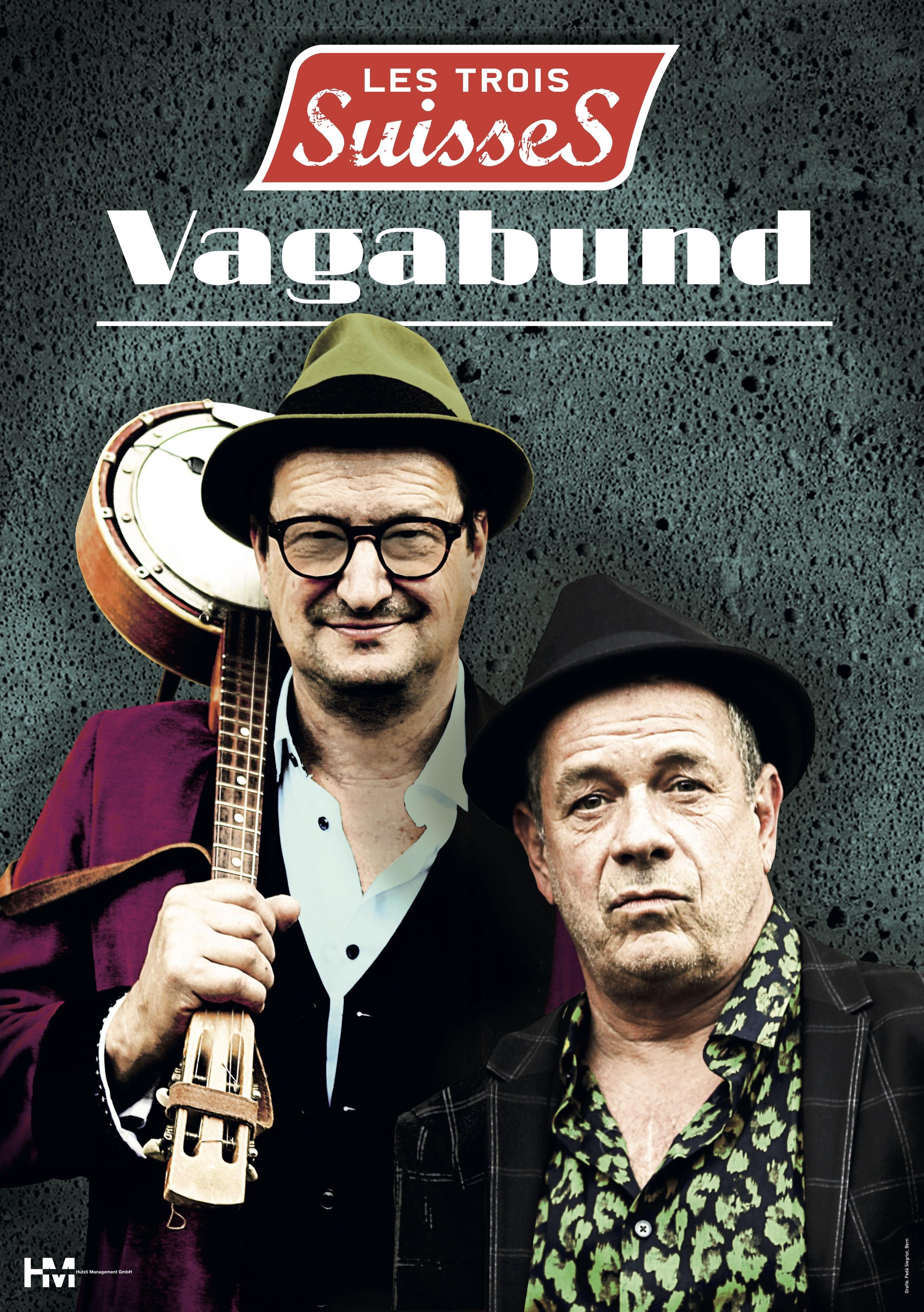 Les trois Suisses - Vagabund Plakat