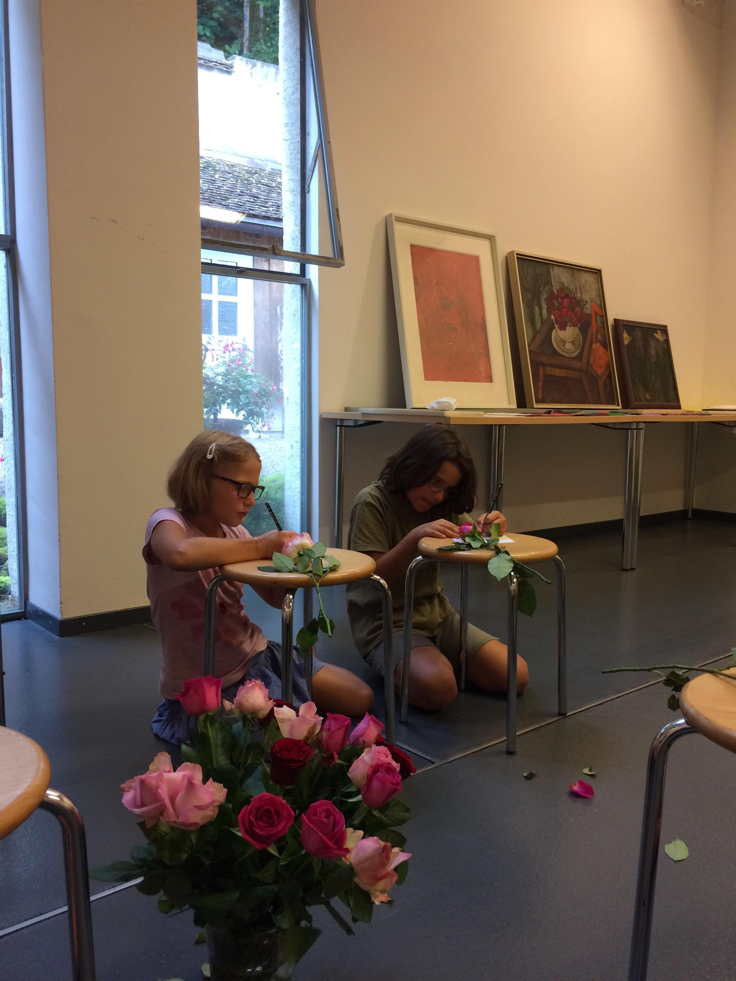 Kinderworkshop: Blumenparadies - vom Garten aufs Bild