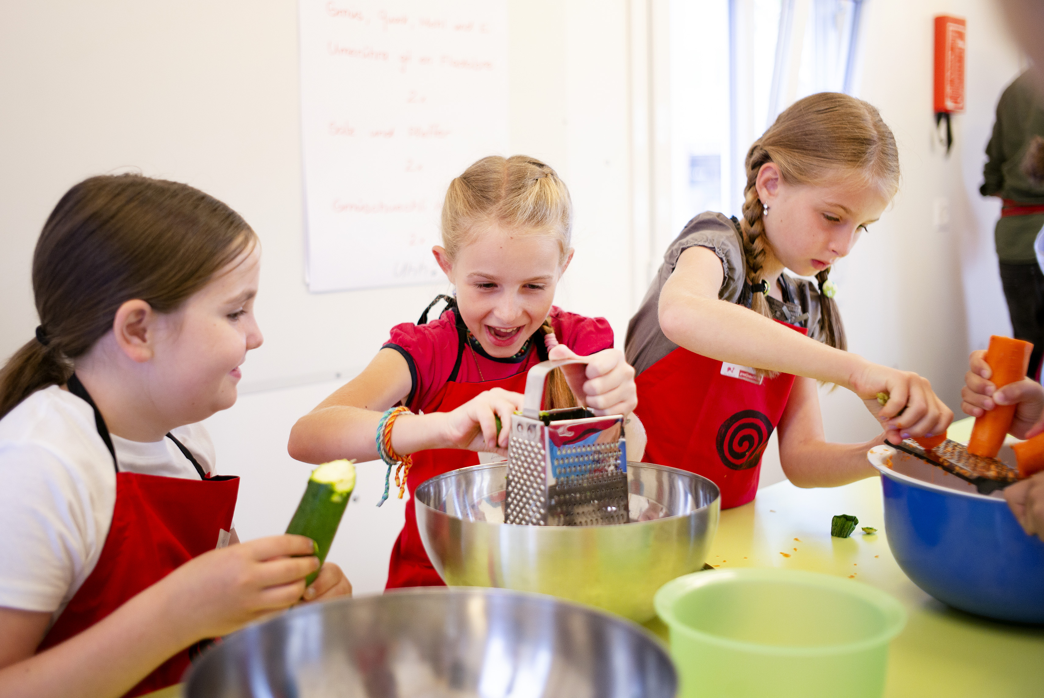 Kinder kochen mit Slow Mobil